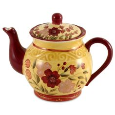 English Garden Teapot ~ bought this one for myself  :)