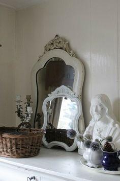 Zo leuk, je kunt niet genoeg spiegels in huis hebben.