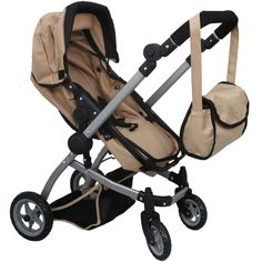 Mommy & me 2 in 1 Deluxe doll stroller EXTRA TALL 32'' HIGH (view ...