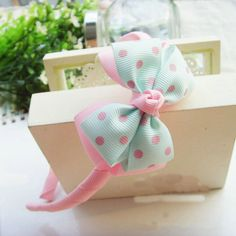 Cheap hair, Buy Quality accessories directly from China hair blush Suppliers: New Design Korean Angela Cute Baby Girls Hairpins Polymer Clay Stereo Cartoon Biscuits Candy Hair Clips Kids Ribbon Art, Ribbon Bows, Baby Bows, Baby Headbands, Diy Hairstyles, Headband Hairstyles, Hair Rubber Bands, Candy Hair, Bow Tutorial