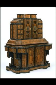 Writing Cabinet Germany, 1716 The Victoria & Albert Museum Happy NaNoWriMo, everyone! Even if you don't have something impressive to do your writing with, you can still churn out words by the. Furniture Styles, Fine Furniture, Furniture Design, House Furniture, European Furniture, Antique Furniture, Gothic Furniture, Antique Desk, Antique Dressers