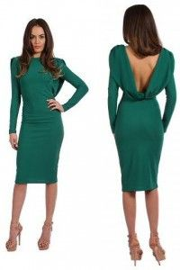 Rochii-de-Ocazie-Ieftine-verzi-Irissa Dresses For Work, Dresses With Sleeves, Women's Fashion, Long Sleeve, Fashion Women, Sleeve Dresses, Long Dress Patterns, Gowns With Sleeves