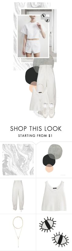 """Minimal & sporty"" by nicerose ❤ liked on Polyvore featuring Kenzo, BCBGeneration, ban.do, Summer, white, minimal, sporty and minimalistic"