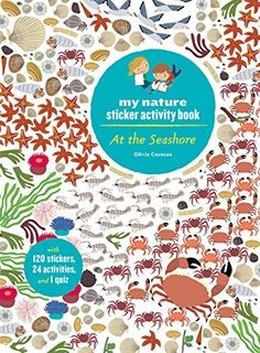 At the Seashore My Nature Sticker Activity Book by Olivia Cosneau