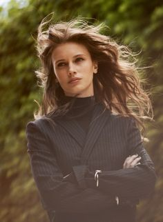 Marine Vacth by Serge Leblon, 2013 Marina Vacth, Deep Photos, Beautiful People, Beautiful Women, Colouring Pics, French Actress, Celebrity Beauty, Female Images, Messy Hairstyles