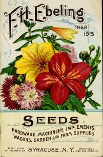Seeds, hardware, implements, wagons, garden and...