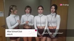 "After School Club EP32 Live on Nov 20 5PM (KST)MISS A 미쓰에이 ""Hush ""I don'..."