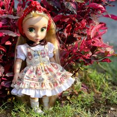 Doll clothes for Disney Animator doll. by RabbitinthemoonThai