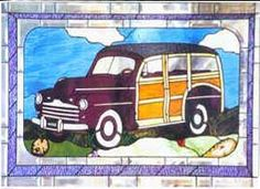 '46 Ford Woody by Johnny Hinrich. Surfs up!