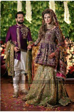 Bridal Mehndi Dresses, Mehendi Outfits, Bridal Lehenga, Bridal Gowns, Asian Wedding Dress, Pakistani Wedding Outfits, Pakistani Wedding Dresses, Pakistan Bride, Dulhan Dress