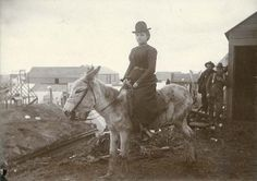 Woman seated on donkey, probably Nome, Alaska, ca. 1900. University of Washington Libraries. Special Collections Division. Nome Alaska, University Of Washington, Antique Photos, Donkeys, Wild West, Division, Destiny, Libraries, Seattle