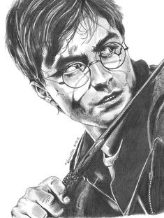 Daniel Radcliffe -Harry Potter by Qraizi-mepha.deviantart.com on @deviantART Daniel Radcliffe Harry Potter, Harry James Potter, Harry Potter Film, Harry Potter World, Harry Potter Sketch, Harry Potter Artwork, Harry Potter Bilder, Harry Potter Drawings, Dessin Harry Potter