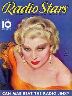 Mae West - Radio Stars, March.