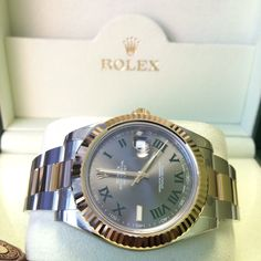 #Available The most popular  Rolex Datejust 2 http://www.globalwatchshop.co.uk/rolex-datejust-ii-116333-grey-dial.html?utm_content=bufferbb7ca&utm_medium=social&utm_source=pinterest.com&utm_campaign=buffer What's your favourite?