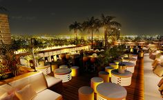 Dubai's latest and highest rooftop lounge