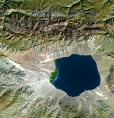 A drainage basin or watershed (North American English usages) is an extent or an area of land where surface water from rain and melting snow or ice converges to a single point at a lower elevation, usually the exit of the basin, where the waters join another waterbody, such as a river, lake,