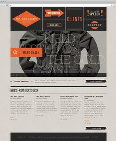 Clean, modern, edgy web design