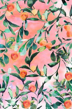Orange tree Art Print by Nikkistrange   Society6