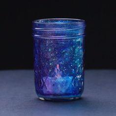 DIY Galaxy Mason Jar