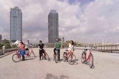 Stadtführung auf dem Fahrrad in Barcelona, Foto: Robert B. Fishman, 4.10.2014