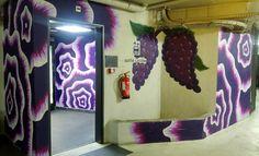 happycurio street art parking wall drawings 2 jet martinez