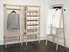 Simple clothing display