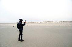 Wandern auf Baltrum-Strand