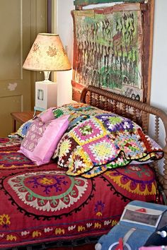 Suzani +  mixture of textiles