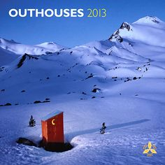 Outhouses Wall Calendar: BrownTrout's annual wall calendar devoted to outhouses has become a cult classic for calendar buyers who have a finely tuned sense of humor. Like those in the edition, outside latrines can still be found in the country, especially near farms and old homes.  Our Price $14.99   http://www.calendars.com/Rustic-America/Outhouses-2013-Wall-Calendar/prod201300005078/?categoryId=cat180006=cat180006#