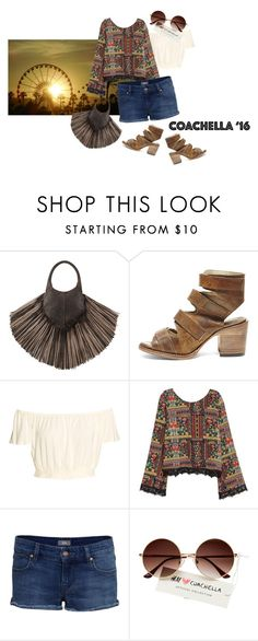 """""""Coachella 16'"""" by captainsilly ❤ liked on Polyvore featuring Barbara Bonner, Steve Madden, H&M and IDA"""