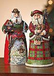 Jim Shore International Santa Figurines | Norm Thompson