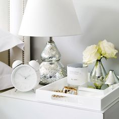 Nesting Lacquer Trays   The White Company
