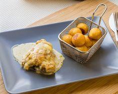 Une recette traditionnelle de Franche-Comté, très gourmande et pleine de saveur. Vous allez fondre pour la sauce onctueuse de ce plat!