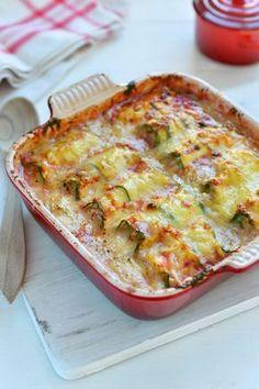 """Het lekkerste recept voor """"Lasagne van courgetterolletjes"""" vind je bij njam! Ontdek nu meer dan duizenden smakelijke njam!-recepten voor alledaags kookplezier!"""