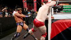 Zack Ryder vs. Sheamus: photos