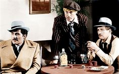 Robert Redford with Robert Shaw (left) and Paul Newman (right) in The Sting (1973)