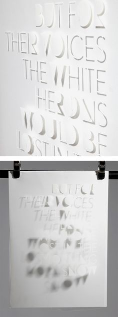 Haiku: Typographic Experiments by Eli Kleppe – Inspiration Grid | Design Inspiration