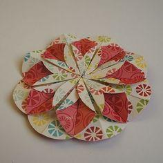 Kwiatek origami krok po kroku