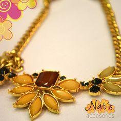 Todos los accesorios dorados me encantan y a ti?https://www.facebook.com/NatsAccesorios