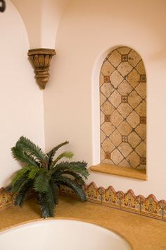 Eads Residence - mediterranean - bathroom - orange county - James Glover Residential & Interior Design