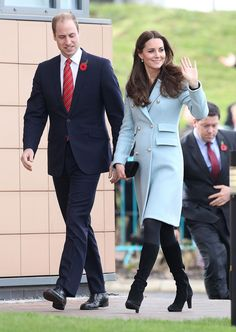 The Duke and Duchess of Cambridge in Wales