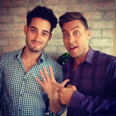 Lance Bass proposes to partner Michael Turchin: 'He said yes' http://lgbtq.me/1dyPXKD