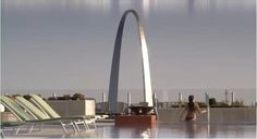 Top of Lumier/Four Seasons Hotel in St. Louis