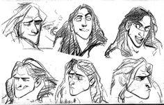makeawishitsadream: Glen Keane's Babies- Tarzan Ariel,...