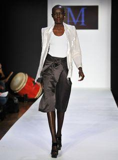 Malan Breton Fall 2014   model walks the runway at the Malan Breton Fall 2011 fashion show ...