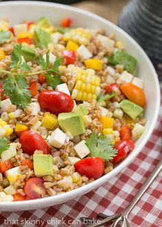 Summer Farro Salad |