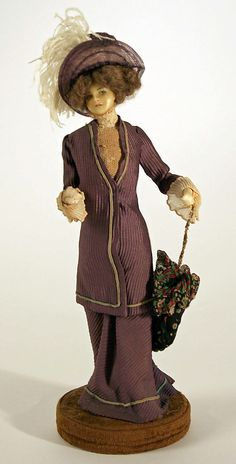 Doll  Lafitte Desirat  (French)  Date: 1909–14 Culture: French Medium: wax Dimensions: [no dimensions available] Credit Line: Gift of Mrs. Walter R. Lehmann in memory of Mr. Walter R. Lehman, 1972 Accession Number: 1972.151.2