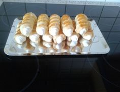 Bread Cones, Party Buffet, Low Carb Desserts, Churros, Pound Cake, No Bake Cake, Cupcake Cakes, Bakery, Deserts