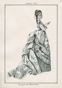 magasin des demoiselles, 1870