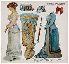 19th Century Fashion | Gabi's Paper Dolls